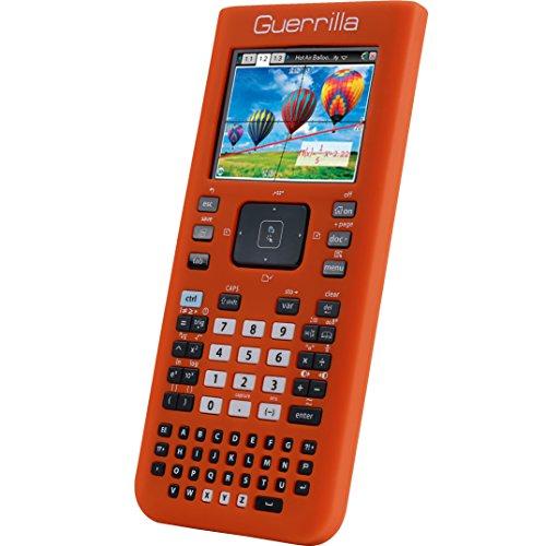 Guerrilla Silicone Case for Texas Instruments TI Nspire CX/CX CAS Graphing Calculator, Orange