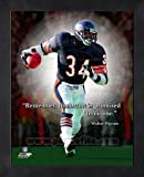 Walter Payton Framed Chicago Bears ProQuote
