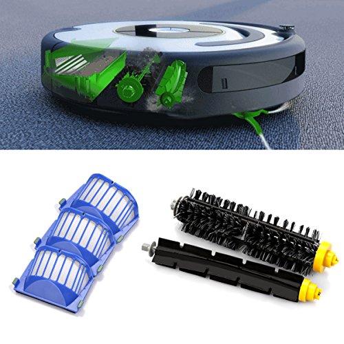 For iRobot Roomba 690,650,655, 605,770,780,790 Robotic Vacuum Cleaner  Replenishment Parts, I-clean 12 pcs Replacement Brush Accessories (600&700