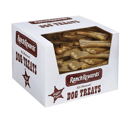 Ranch Rewards Bulk Pressed Rawhide Bones by Ranch Rewards