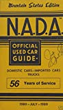 NADA Used Car Guide - Mountain States - July 1989