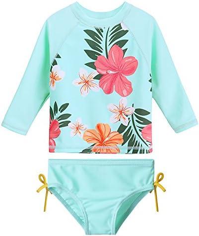 HUAANIUE Toddler Swimsuit Rashguard Tankini product image