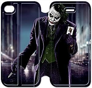 iphone 5C Flip Leather Phone Case Batman Joker SF1DG6275534