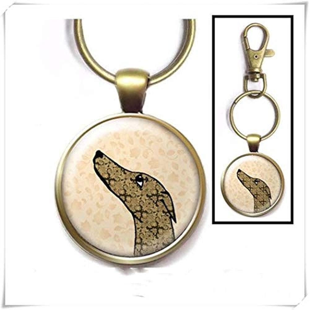Heng Yuan Cheng Greyhound - Llavero, diseño de Galgo, Hecho ...