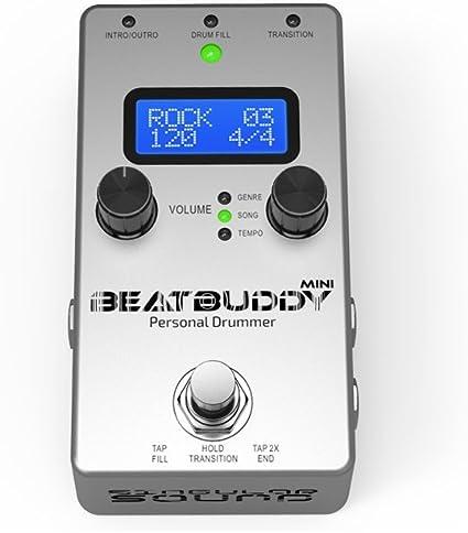 BeatBuddy BEATBUDDY Pedal De Guitarra Máquina De Tambor: Amazon.es ...
