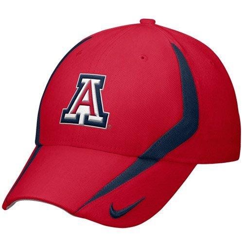 - Nike Arizona Wildcats Cardinal 2009 Players Swoosh Flex Fit Hat