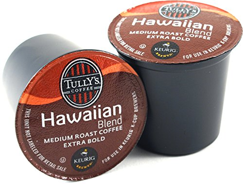Tully's Hawaiian Blend Coffee Keurig K-Cups, 180 Count