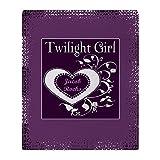 CafePress - Twilight Girl (Jacob) - Soft Fleece Throw Blanket, 50''x60'' Stadium Blanket
