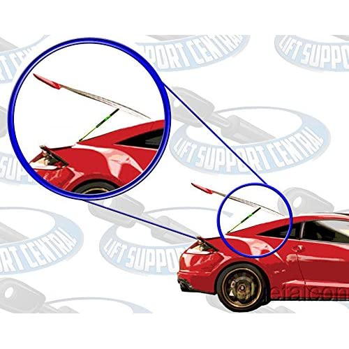 SET Tuff Support Rear Hatch Lift Supports 2006 To 2008 Honda Fit W//O Brackets 2 Pieces