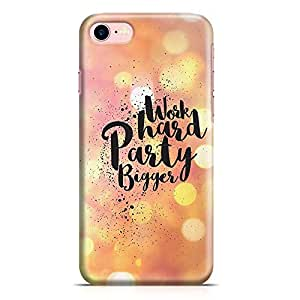 Loud Universe iPhone 7 Case Work Hard Party Bigger Low Profile Light Weight Wrap Around iPhone 7 Cover