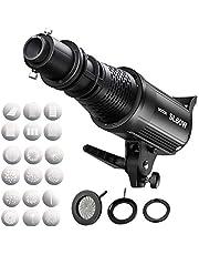 Godox SL-60W LED Video Ligh,Godox SA-17 Projector to Bowens Mount,SA-P Projection Attachment + Godox SA-06 Iris + Godox SA-09-002/003/004 + Godox SA-10