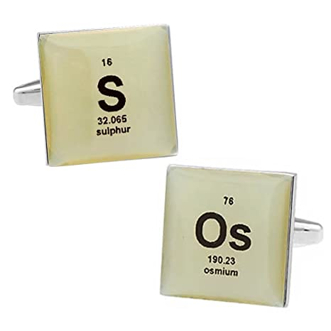 Amazon Element Symbol Message Es O Es Cufflinks Everything Else