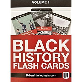 Search : Urban Intellectuals Black History Flashcards (52 Educational Card Deck) (Volume 1)