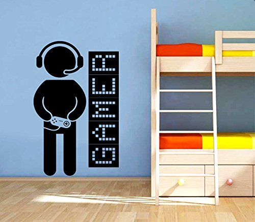 Wall Decals Game Controllers Joystick Gamer Gaming Video Game Kids Children  Gift Nursery Boys Room Wall Vinyl Decal Stickers Bedroom Murals Part 87