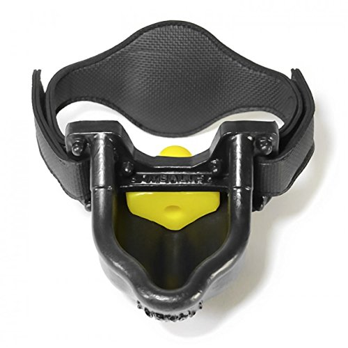 Urinal Gag With Straps Black And Yellow by Oxballs