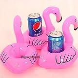 Boubron Pink Flamingo Super Cool Inflatable Drink Holder (5 Pack)