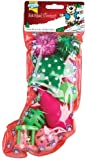 Good Girl Cat Toy Stocking with 8 Fun Filled Toys (10520)