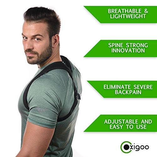 Posture-corrector-for-Women-and-Men-Clavicle-Shoulder-Support-Brace-Upper-Back-Support-Helps-with-Cervical-Neck-Pain-Improves-Poor-Posture-Posture-Brace-for-Back-Pain-Relief-and-Hunchback