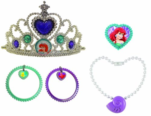 Disney Princess Ariel Lights and Sound Jewelry Set (Princess Ariel Tiara)