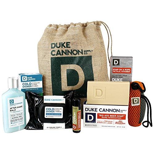 Duke Cannon Men's Cold Ass Beer Shower Sack Gift Set