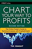 img - for Chart Your Way To Profits: The Online Trader's Guide to Technical Analysis with ProphetCharts by Timothy Knight (2010-08-02) book / textbook / text book