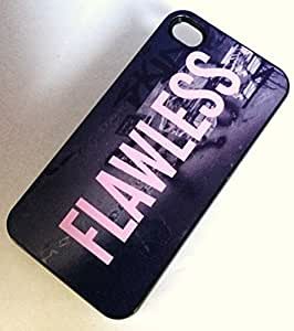 FLAWLESS Phone Case for the iPhone 6 BLACK Plastic Case