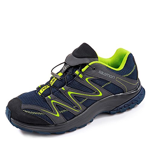 Salomon - Zapatillas de running para hombre navy/phantom/lime