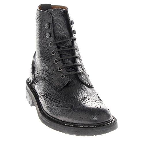 Givenchy Småstenar Läder Brogue Stövlar