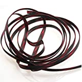 5M Insulation Red Black Braided Sleeves 4/6/8/10/12/15/20/25mm Tight PET Expandable Cable Sleeve Wire Cable Protection 8 Sizes