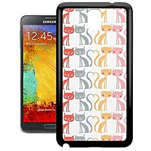 Bumper Phone Case For Samsung Galaxy Note 3 - Kitty Love Wrap-Around Cover