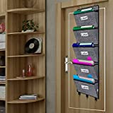 Over The Door File Organizer, Hanging Wall Mounted