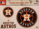 Houston Astros NEW LOGO Multi Die Cut Magnet Sheet Auto Home MLB Baseball