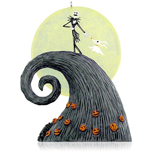 Hallmark Keepsake Ornament: Disney Tim Burton's The Nightmare Before Christmas Here Comes the Pumpkin King ()