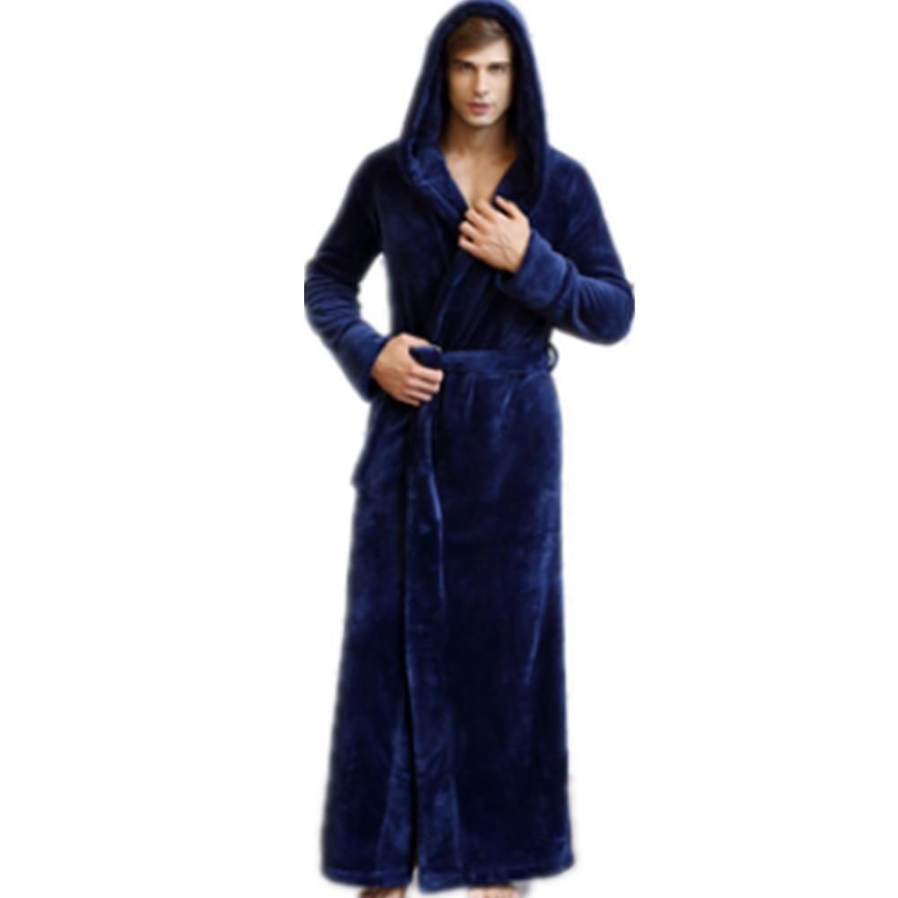 DMMSS Coppie di inverno Robe spessa pigiama flanella accappatoio grandi dimensioni camicia da notte ...
