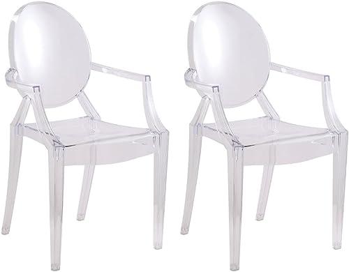 Designer Modern Clear Arm Chair