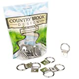 50 - Country Brook Design | 1 Inch D-Ring with Clip