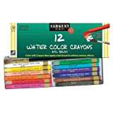Sargent Art 22-1112 12 Count Water Color-Crayons with Brush