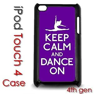 For Ipod Touch 5 Case Cover gen Touch Plastic Case - Keep Calm and Dance On