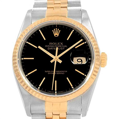 Rolex Datejust Automatic-self-Wind Male Watch 16233 (Certified Pre-Owned)