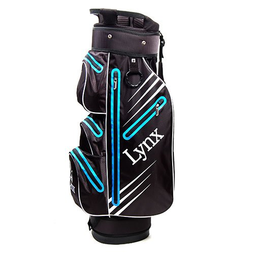 Lynx New Predator Golf Cart Bag (Royal Blue/Black)