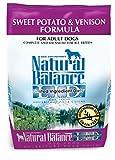 Natural Balance L.I.D. Limited Ingredient Diets Dry Dog Food - Grain Free - Sweet Potato & Venison Formula - 4.5-Pound
