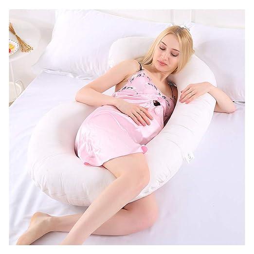 PREDUXYOW Almohada para el Embarazo en Forma de C, Almohada ...