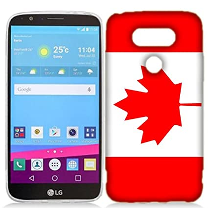 brand new 13ccc 769ce LG G5 Case, Canada Flag Cover for LG G5 Phone: Amazon.ca: Cell ...