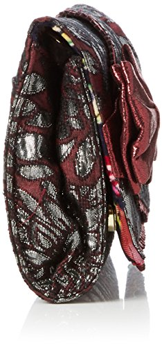 Patty Red Irregular Clutch Clutch Burgundy Bow Choice Women's AqwYrEY