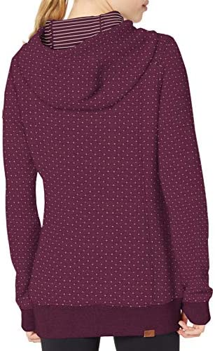 Roxy Women's Dipsy Quilted Hooded Sweatshirt