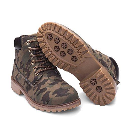 Botas Camuflaje Shoes Botines Martin Manadlian Casual Botas de Mujer HdwqvC