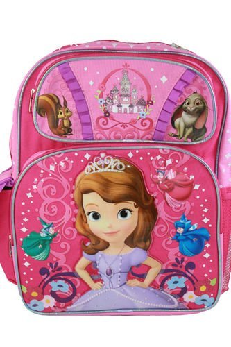 Disney - Sofia the First 16'' Backpack - BRAND NEW
