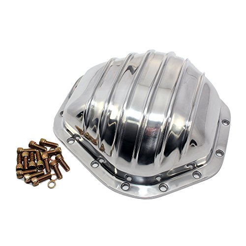 (Assault Racing Products A5075 GM Truck 14 Bolt 10.5in Ring Gear Polished Aluminum Rear Differential Cover)