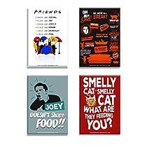 Mc Sid Razz Friends TV Series Combo Pack of 4 Rectangular Fr
