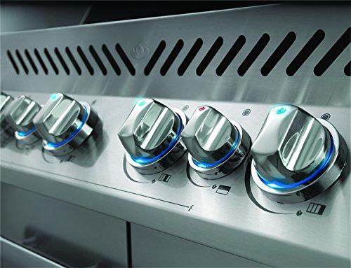 Napoleon-Grills-P500RSIBNCH-1-Prestige-500-6-Burner-Charcoal-Natural-Gas-Grill-Rear-Side-Burner